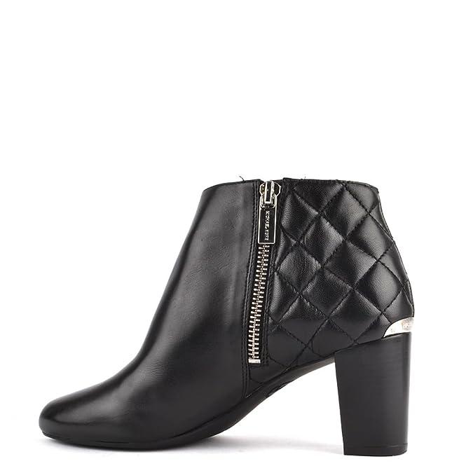 MICHAEL by Michael Kors Lucy Botines de Cuero Mujer 40 EU Negro: Amazon.es: Zapatos y complementos