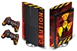 PS3-SUPER-SLIM-2012-Designer Sticker for Sony PlayStation System & Remote Controllers -MELTDOWN