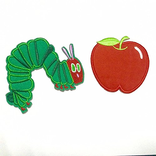 Cute Apple DIY Applique Embroidered Sew Iron on Patch
