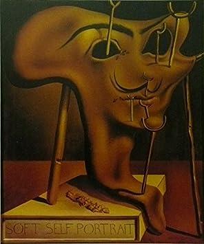 Self Portrait With Fried Bacon - Salvador Dali - cuadro con marco - 11 x 14: Amazon.es: Hogar