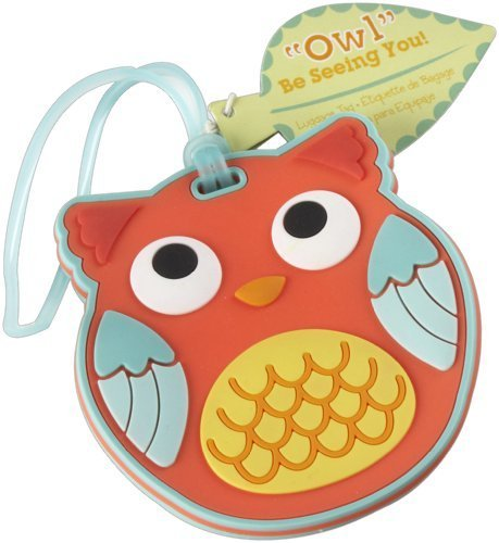 Kate Aspen Be Seeing You Luggage Tag, Owl by Kateaspen [並行輸入品]   B01AKZKUL8