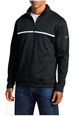 nike 1 4 zip pullover. nike mens golf tour performance therma-fit 1/4 zip cover up pullover ( 1 4