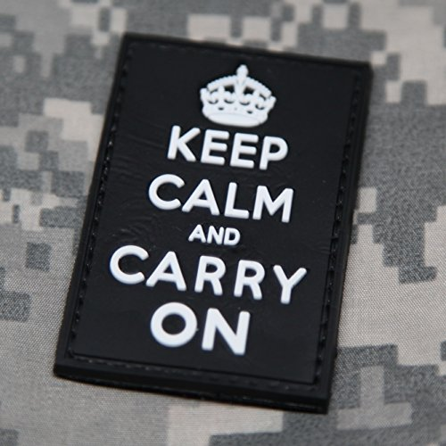 Keep Calm Carry Morale Patch