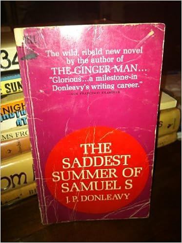 Image result for saddest summer of samuel s donleavy