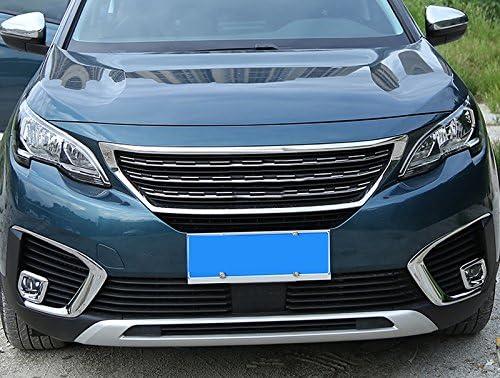 ABS Chrome Feux antibrouillard avant Cover Trim 2 pcs pour Accessoire de voiture PG5008