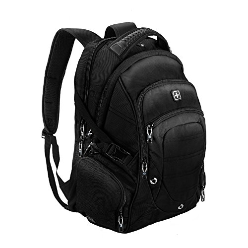 Suissewin big business travel outdoor mountain climbing computer backpack