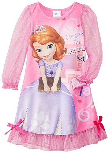 Sofia The First Costumes For Kids - Disney Little Girls'  Sofia The First Costume Sleep Gown, Pink, 2T