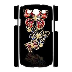 Butterfly Diamond CUSTOM 3D Phone Case for Samsung Galaxy S3 I9300 LMc-83785 at LaiMc