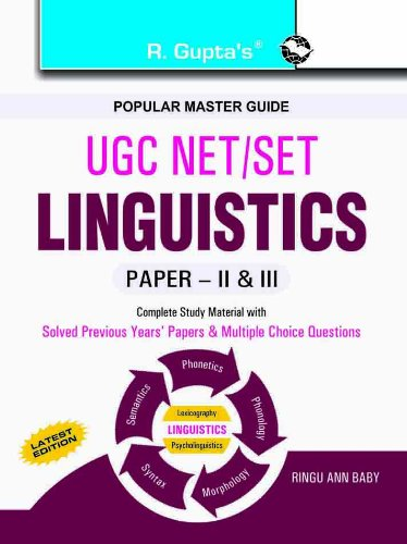 Buy UGC-NET/SET Linguistics Guide Book Online at Low Prices