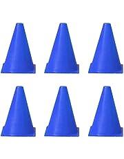 judao0050 - Confezione da 6 Coni per Allenamento calcistico, 18 cm