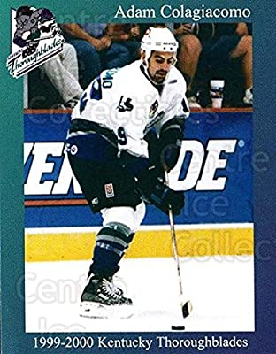 (CI) Adam Colagiacomo Hockey Card 1999-00 Kentucky Thoroughblades 6 Adam Colagiacomo