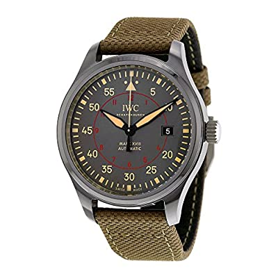 IWC Men's Swiss Automatic Stainless Steel Casual Watch, Color:Black (Model: IW324702) from IWC