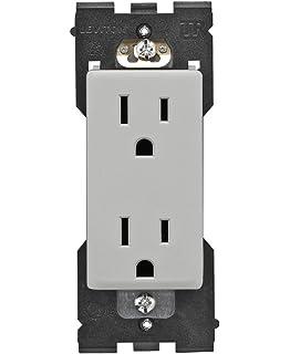 Leviton RER15-PG Renu Tamper-Resistant Outlet, 15-Amp, 125VAC,