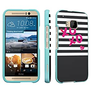 DuroCase ? HTC One M9 (Released in 2015) Hard Case Mint - (XOXO Love)