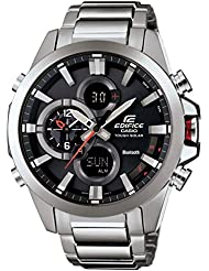 Casio Mens Edifice Tough Solar Stainless Steel Watch