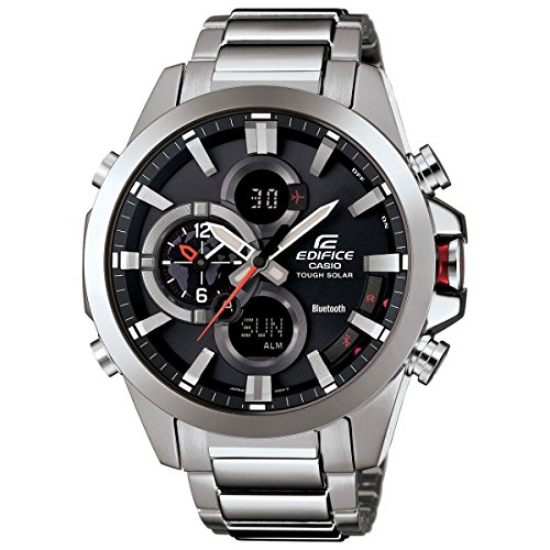 Casio Men S Edifice Tough Solar Stainless Steel Watch Buy Online