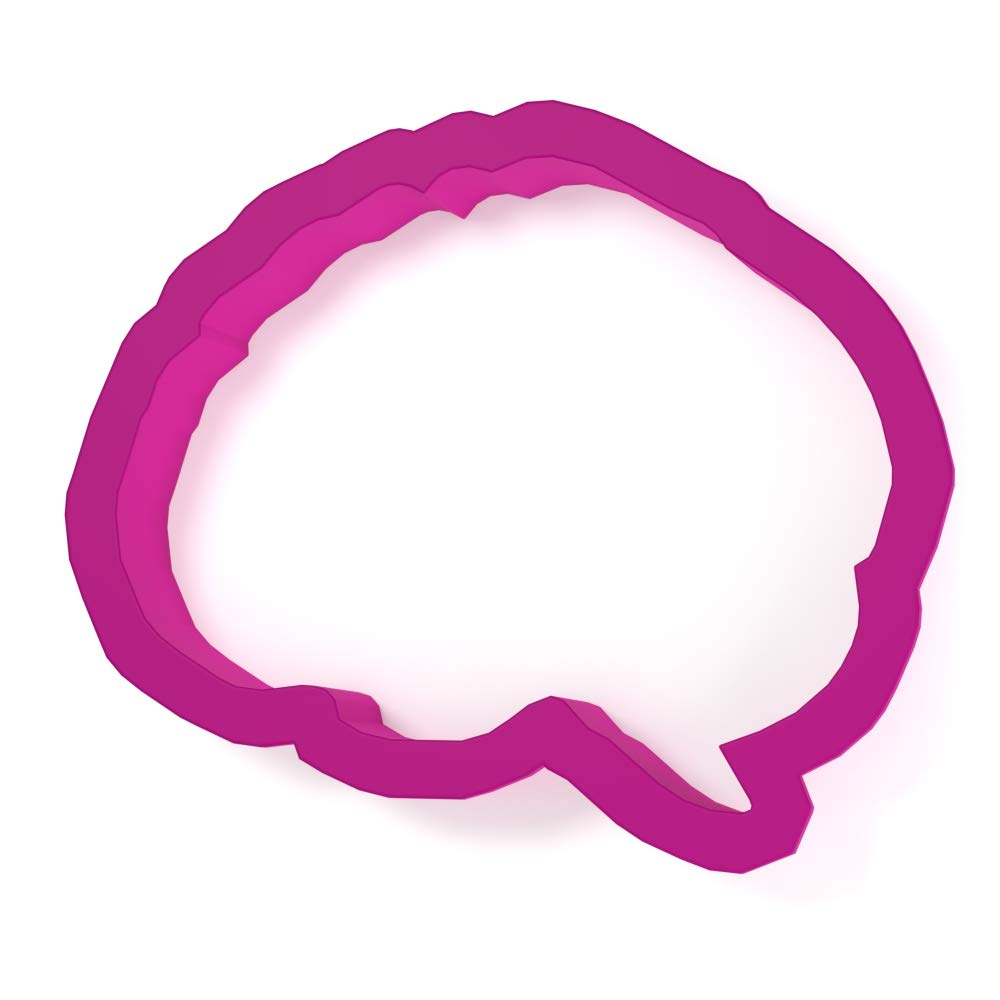 Anatomical Brain Cookie Cutter - LARGE - 4