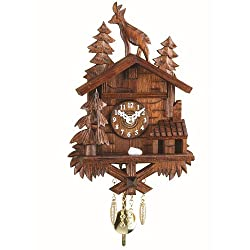 Trenkle Kuckulino Black Forest Clock with quartz movement and cuckoo chime TU 2028 PQ