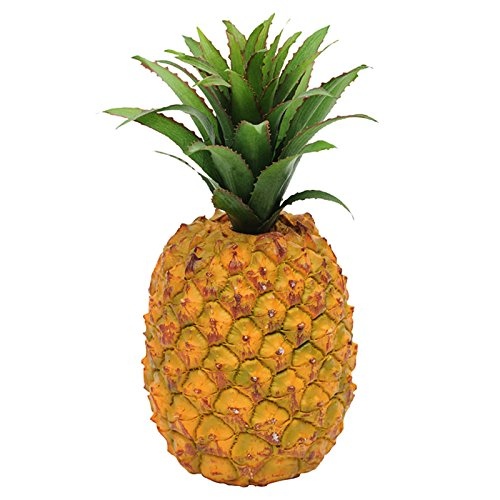 FloristryWarehouse Kü nstliche Single Ananas Fruit 13 cm/12, 7 cm