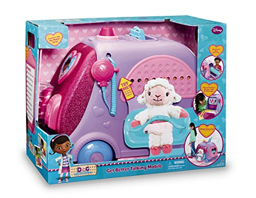 Disney Doc McStuffins Get Better Talking Mobile Clinic by...