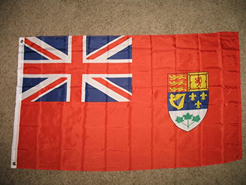 Flag Old Canada Red Ensign Super Poly 3X5 Ft Banner