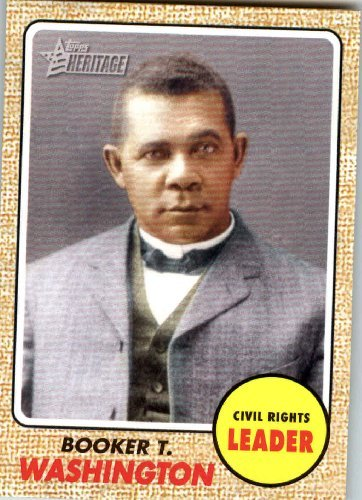 2008 Topps American Heritage #59 Booker T. Washington (Civil Rights Leader) Trading Card