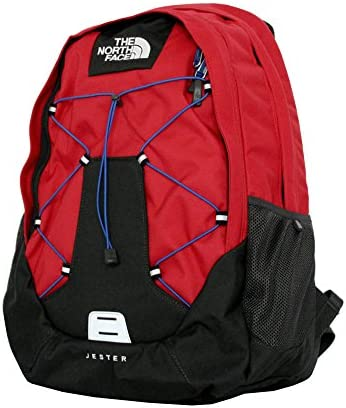 The North Face Men s Jester Laptop Backpack BOOK BAG TNF RED