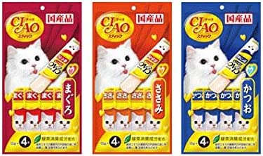 Ciao Churu Cat Treat Snacks 11 Flavors CatFood