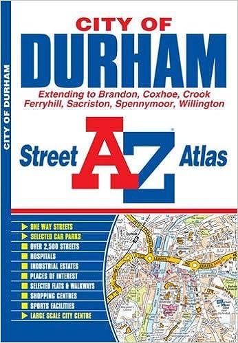 Durham Street Atlas Geographers A Z Map Co Ltd 9781782570585