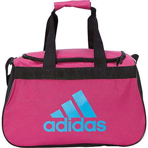 adidas Limited Edition Diablo Small Duffel Gym Bag in Bold Colors - (Bahia Magenta/Bold Aqua/Black)