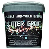 Grout glitter. Ready mixed, 1LTR, 6 colours (Grey) by SPARKLES