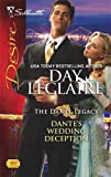 img - for By Day Leclaire Dante's Wedding Deception (Silhouette Desire) [Mass Market Paperback] book / textbook / text book