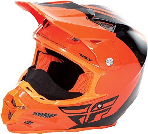Orange/Black F2 Carbon Pure Cold Weather Helmet, Size M