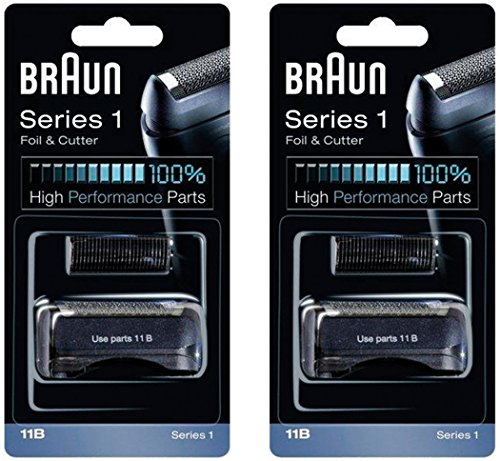 BRAUN 11B Series 1 Shaver Foil and Cutter Head Replacement Combi Pack , 2 Count