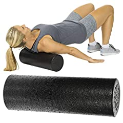 Foam Roller              Simplistic in design, the Vive foam roller provides an easy way to stretch, relieving tension, fatigue and stress while improving circulation, balance and flexibility. The firm, high-density foam rolle...