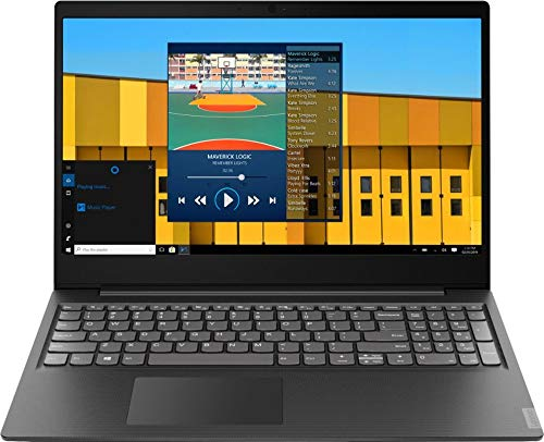 2019 Lenovo S145 15.6 Laptop Computer, Intel Pentium Gold 5405U 2.3GHz, 4GB DDR4 RAM, 500GB HDD, 802.11AC WiFi, Bluetooth, USB 3.1, HDMI, Granite Black Texture, Windows 10 Home
