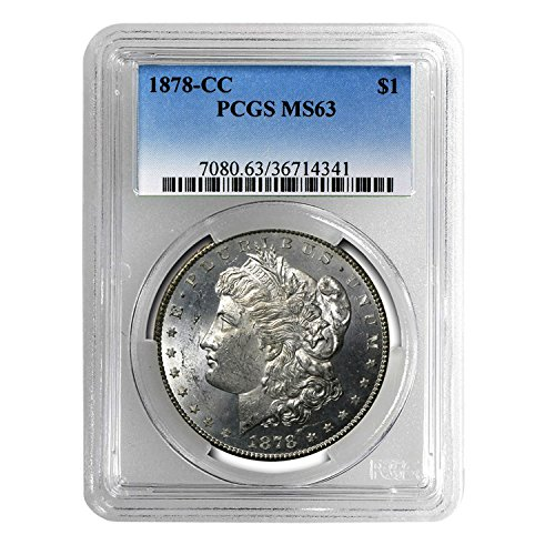 1878 CC Morgan Dollar $1 MS-63 PCGS