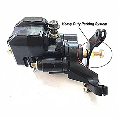 tianfeng Rear Brake Caliper For SUZUKI Quadrunner 230 LT230 LT230S LT230E Quadracer 250 LT250R Quadracer 500 LT500R With Pads: Automotive