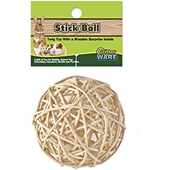 Ware Manufacturing Stick Ball Chew Toy for Small Animals