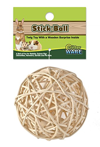 Nutty Stick Ball (Ware Manufacturing Stick Ball Chew Toy for Small)