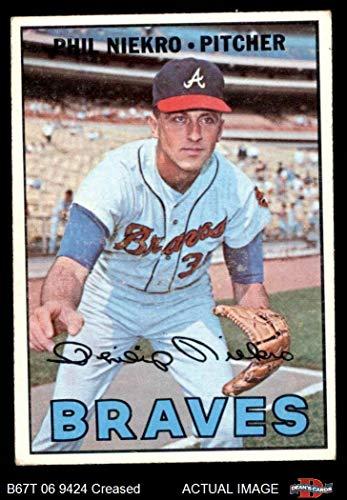 1967 Topps # 456 Phil Niekro Atlanta Braves (Baseball Card) Dean's Cards 3 - VG Braves