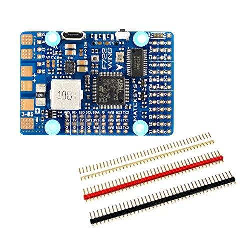 (MqbY for Matek Systems F722-WING STM32F722RET6 Flight Controller Built-in OSD for RC Drone Airplane Aircraft Fixed Wing KSX3268)
