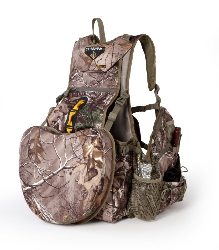 Tenzing TZ TV14 Turkey Hunting Vest, One Size, Realtree Max Xtra