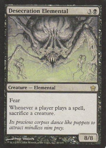 Desecration Elemental (Magic the Gathering : Fifth Dawn #45 ()