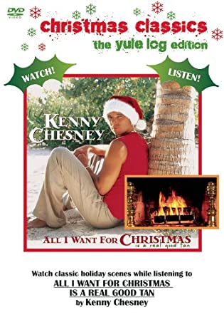 kenny chesney all i want for christmas is a real good tan christmas classics