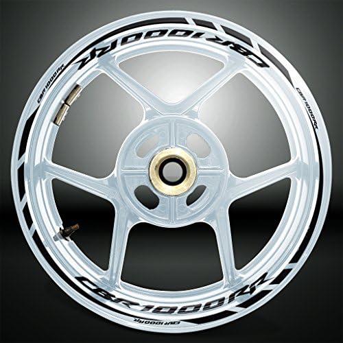 Reflective Silver Motorcycle Rim Wheel Decal Accessory Sticker For Honda CBR 1000RR