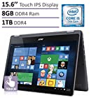 Acer Aspire R5 2-in-1 Convertible 15.6'' FHD IPS Touchscreen Laptop(2017 Newest Model), Intel