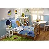 Everything Kids by NoJo Toddler Bedding Set, Monster