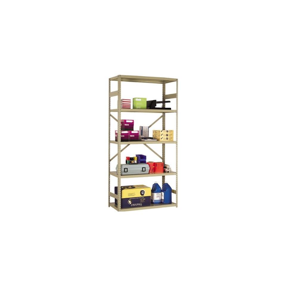 FeatureLine Series Commercial Grade Shelving Open Back 36 W x 18 D x 75 H
