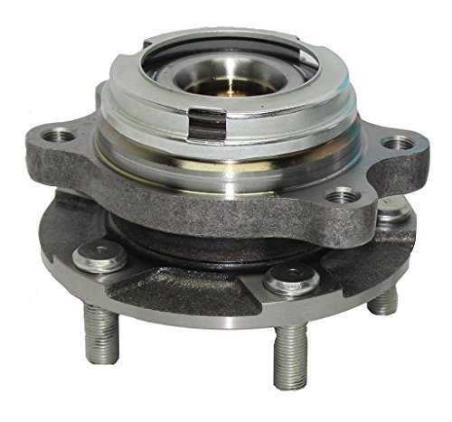 Detroit Axle Front Driver or Passenger Side Complete Wheel Hub & Bearing Assembly for 2007-2012 Nissan Altima 2.5L - [2013 Altima Coupe 2.5L] (Wheel Bearing Spindle)